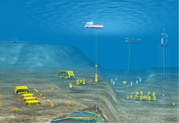 Subsea-processing