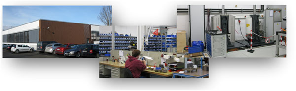 Moog's new Production & Prototyping Center in Böblingen, near Stuttgart, Germany