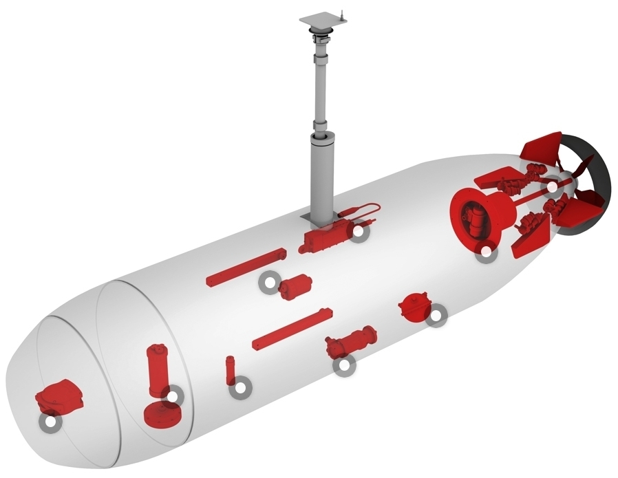 Large Autonomous Undersea Vehicle (AUV)