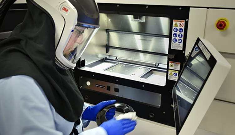 Machine Maintenance in Moog's Additive Manufacturing Center