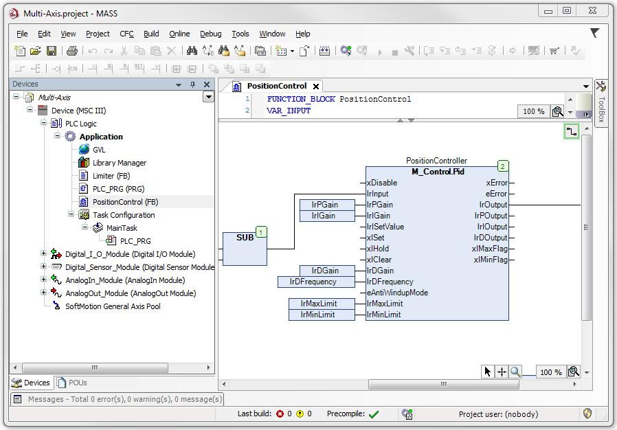 Moog Application Software Suite (MASS)