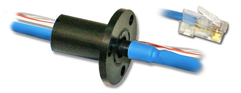 Ethernet and High Definition Slip Rings