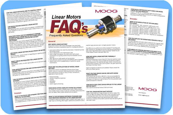 Linear Motor FAQs