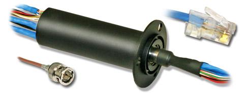 AC7195 イーサネットおよびHDビデオ対応スリップリング